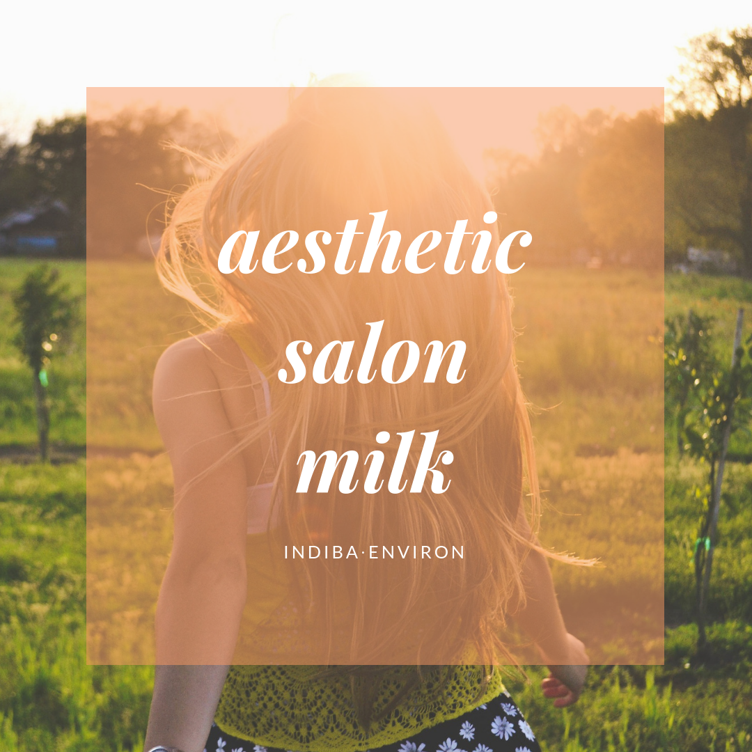 aesthetic salon milk